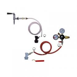 Refrigerator Keg Kit - Nitrogen Tap - BALL LOCK