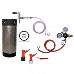 Refrigerator Keg Kit - Nitrogen Tap - PIN LOCK with Keg