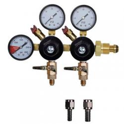 Nitrogen Regulator - Dual Body, Three Gauge Nitrogen Regulator