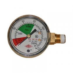 Taprite Regulator Gauge - 0-2000 PSI