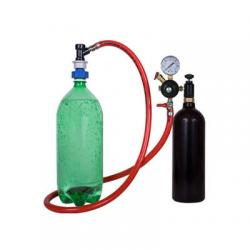 Soda Carbonating Kit with 20 oz CO2 Tank