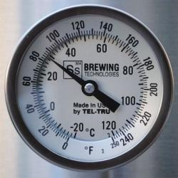 Ss Brew Tech Bi-Metal Thermometer for Ss Kettles