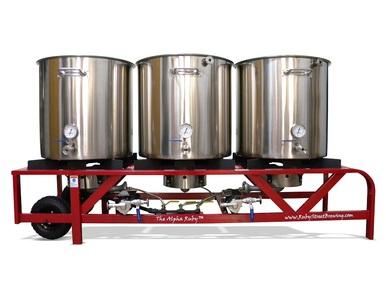 Alpha Ruby Street 1 Barrel Brewing System (Electric)