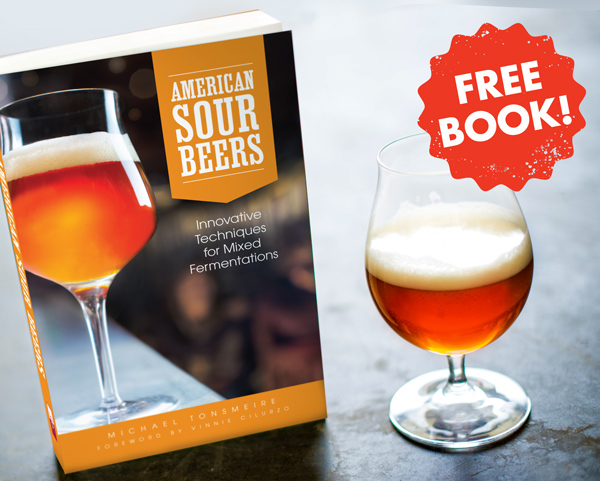 FREE copy of American Sour Beers with an AHA membership!
