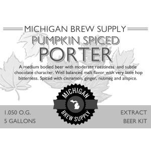 Pumpkin Spiced Porter Extract Brewing Kit